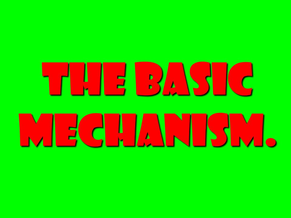 The Basic Mechanism.