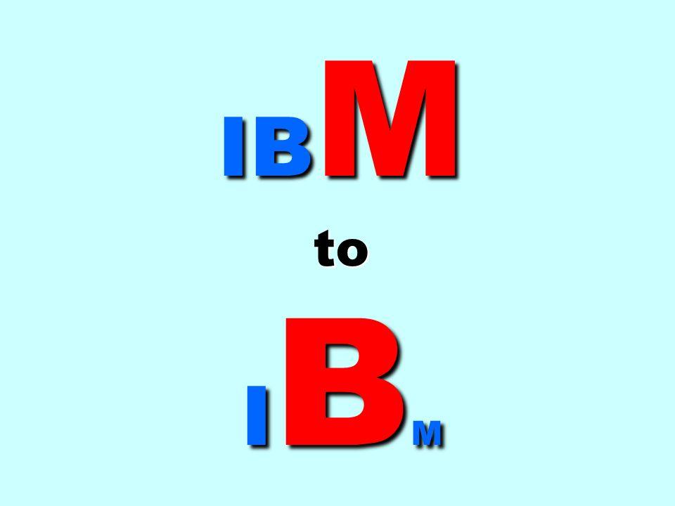 IBM to IBM