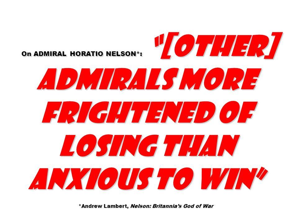 *Andrew Lambert, Nelson: Britannia's God of War