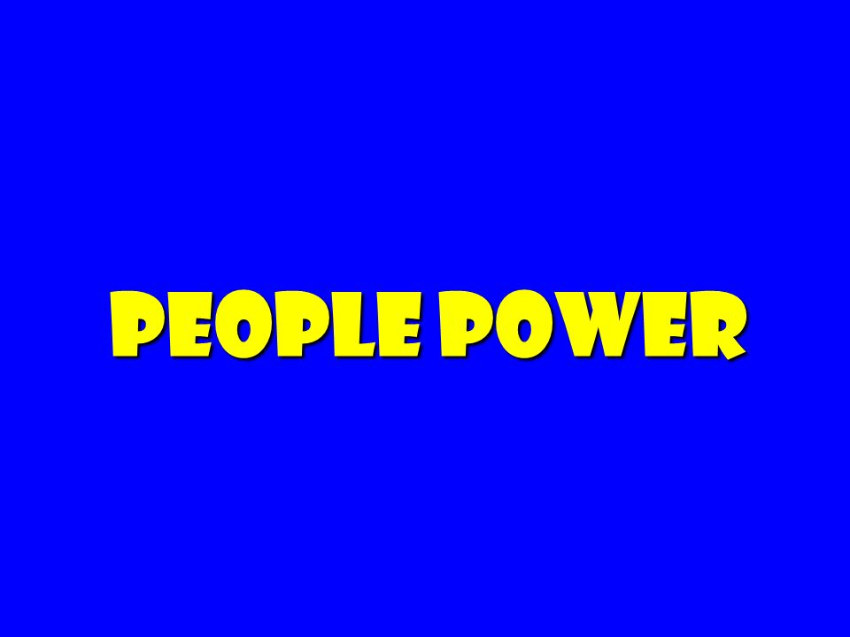 People power 75 75