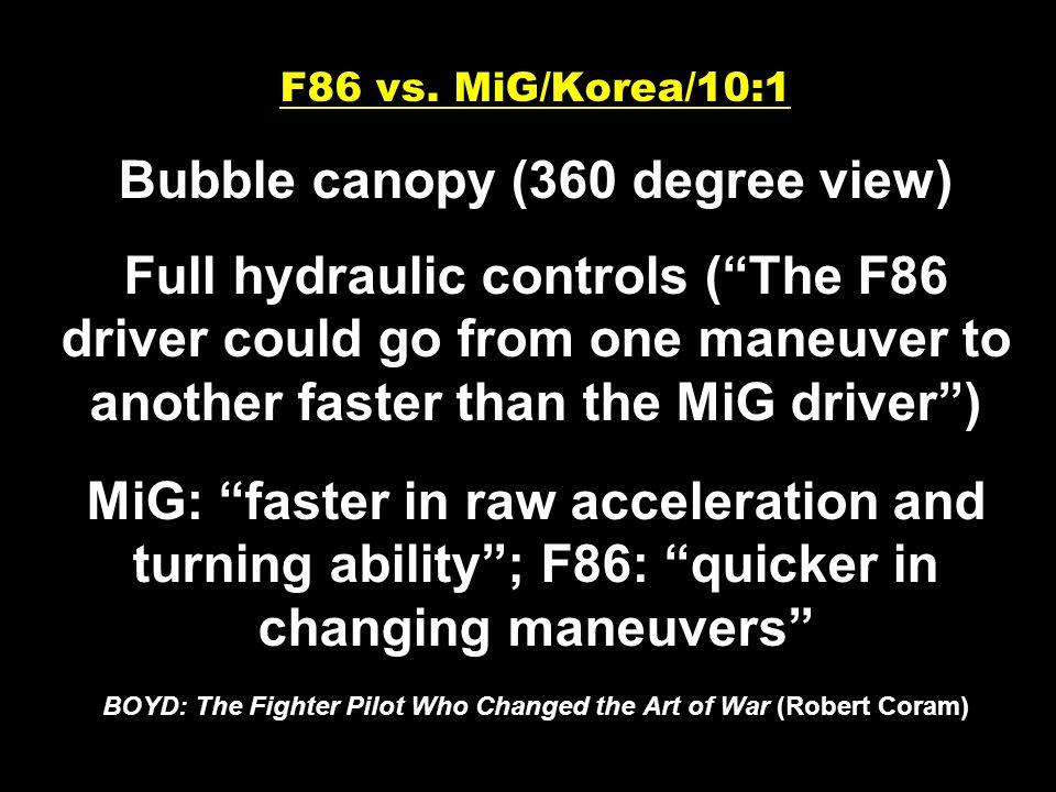 F86 vs.