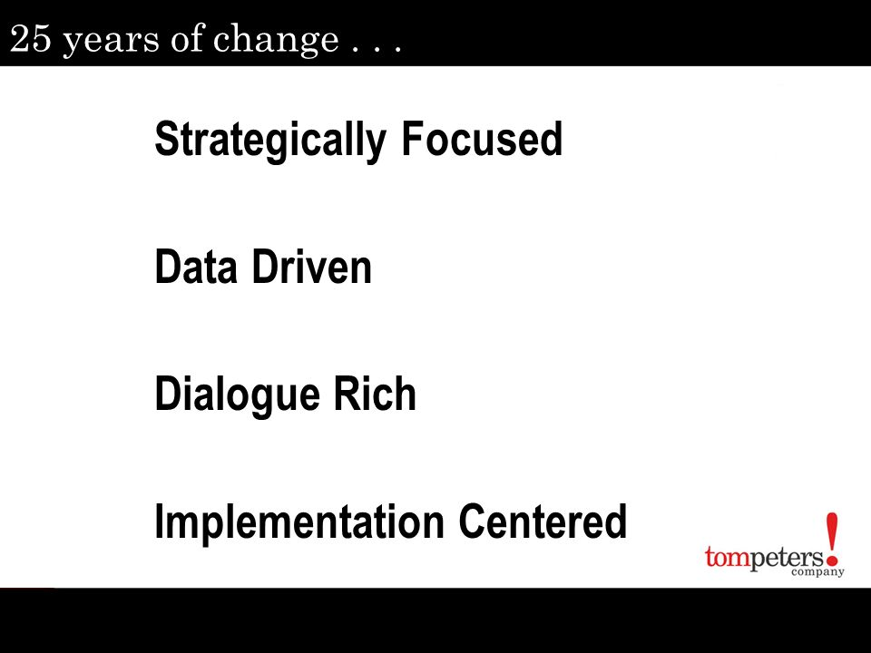 Strategically Focused Data Driven Dialogue Rich