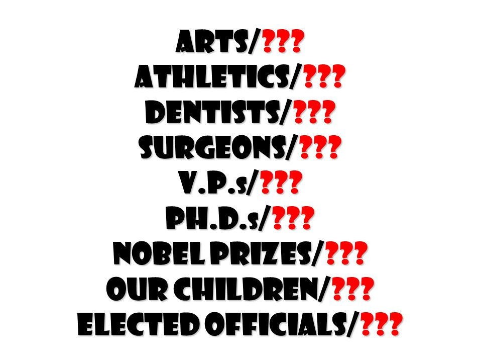 Arts/. Athletics/. Dentists/. Surgeons/. V. P. s/. Ph. D. s/