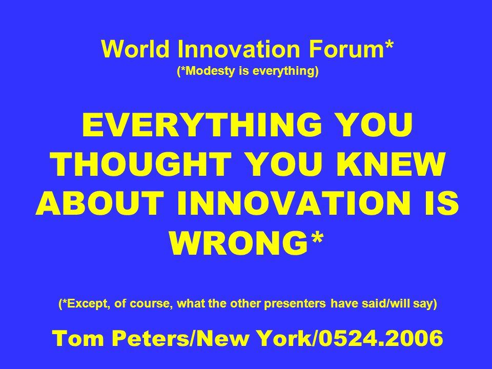 World Innovation Forum. (