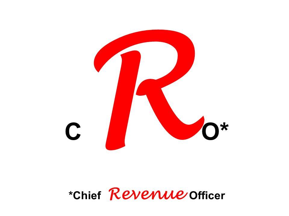 CRO* *Chief Revenue Officer