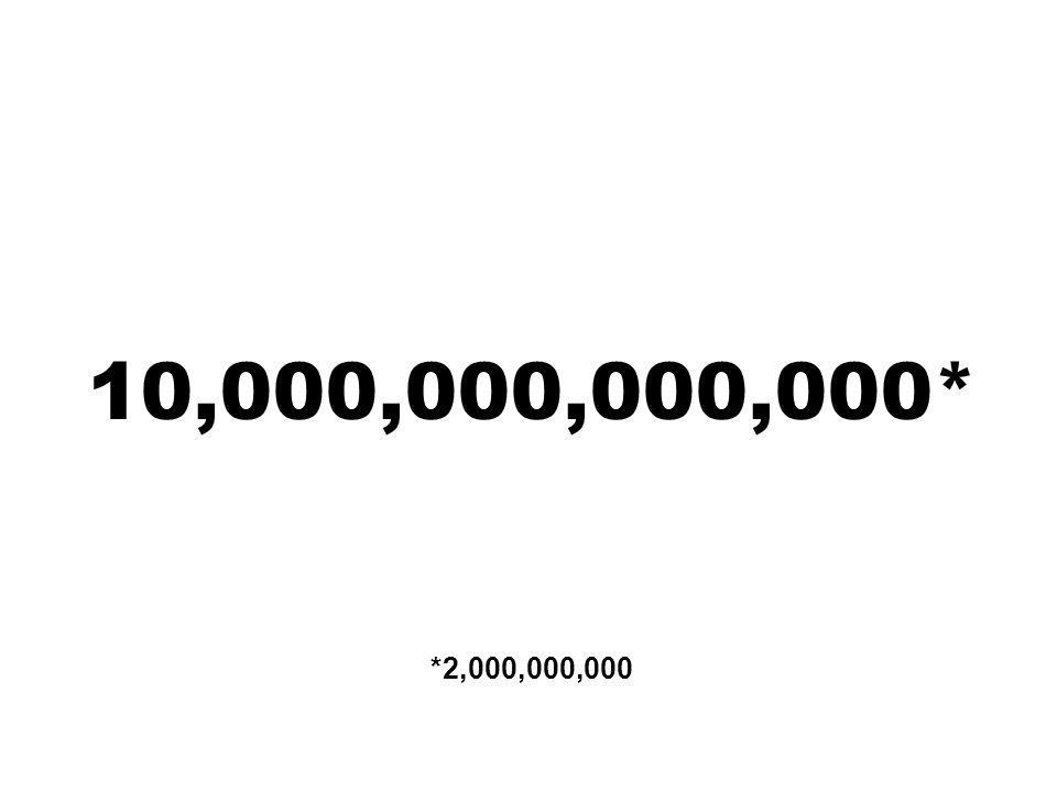 10,000,000,000,000* *2,000,000,000