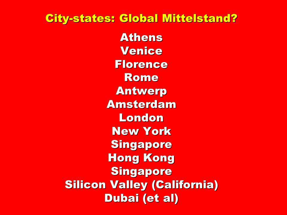 City-states: Global Mittelstand