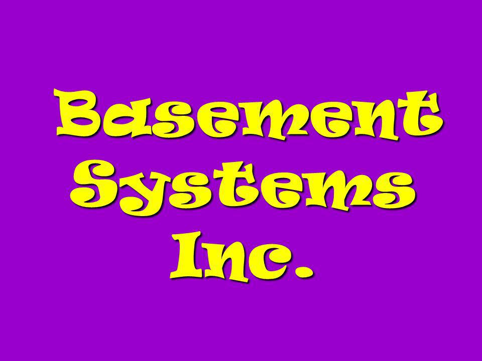 Basement Systems Inc.