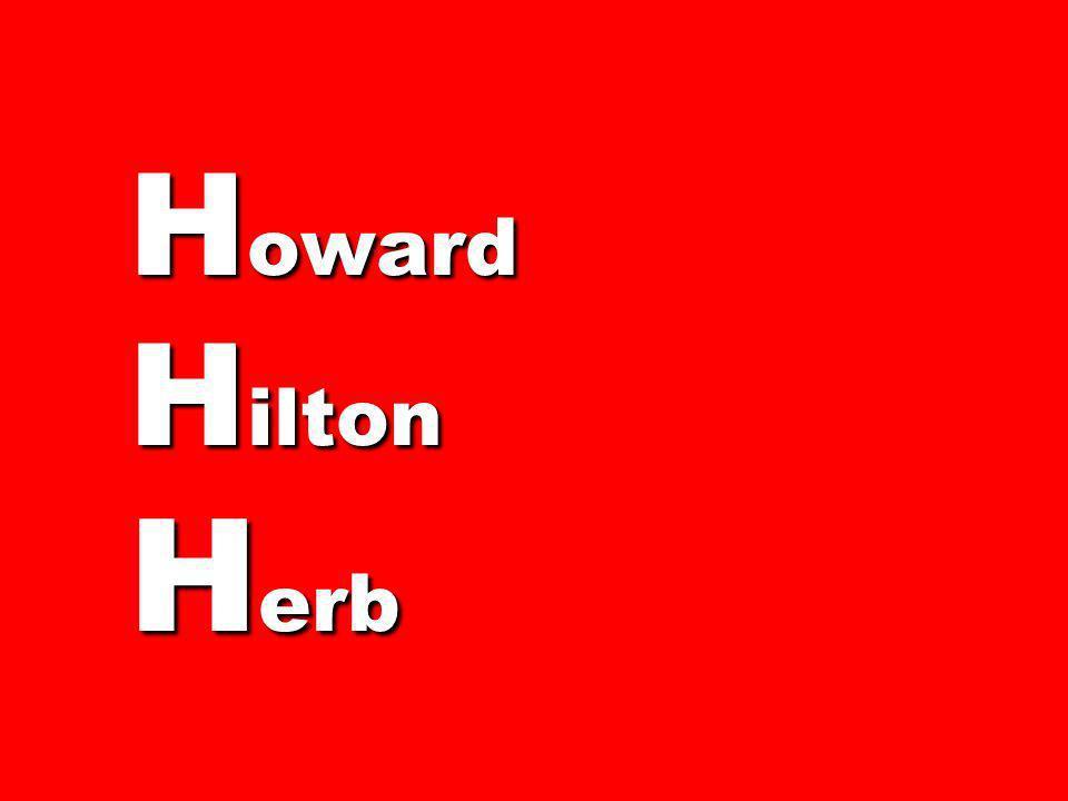 Howard Hilton Herb