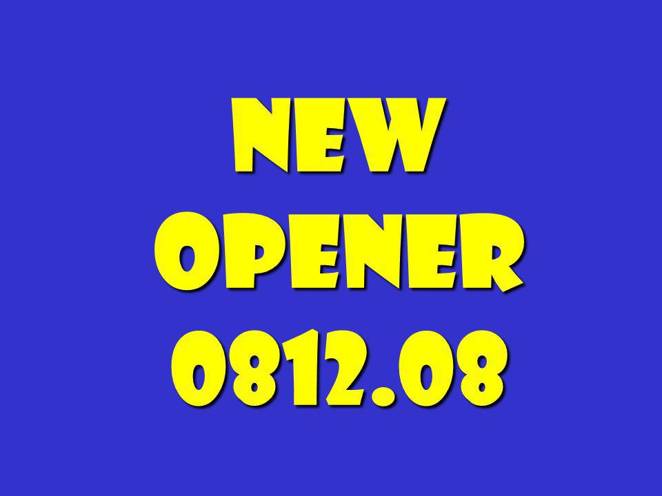 New Opener 0812.08