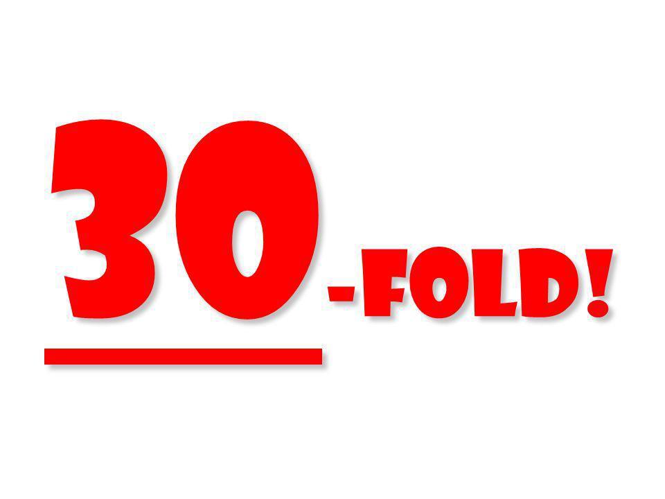 30-fold!