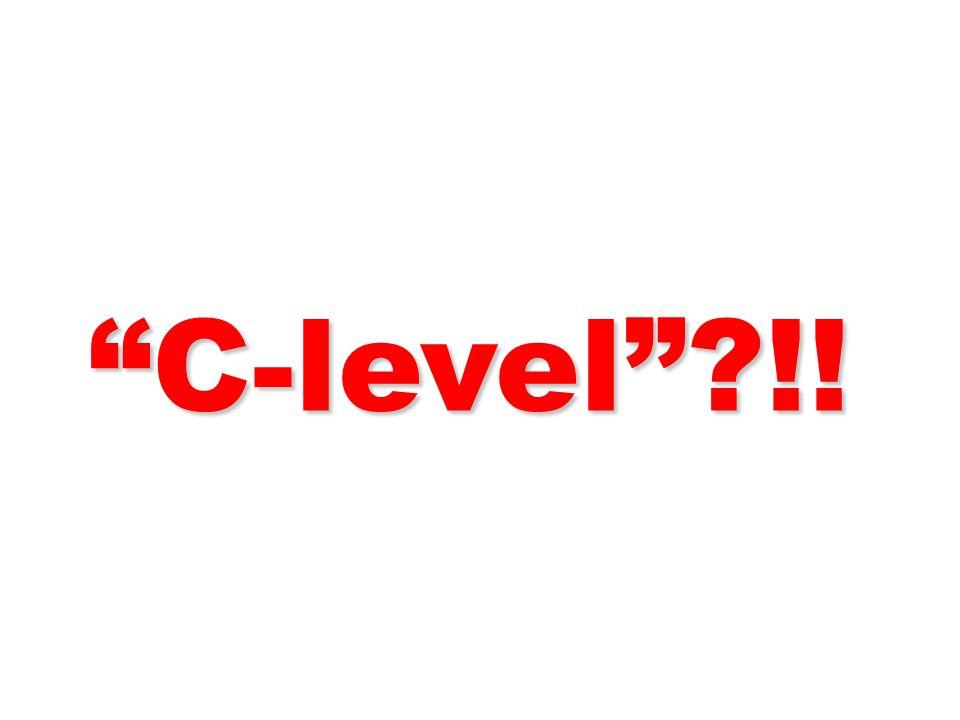 C-level !! 58