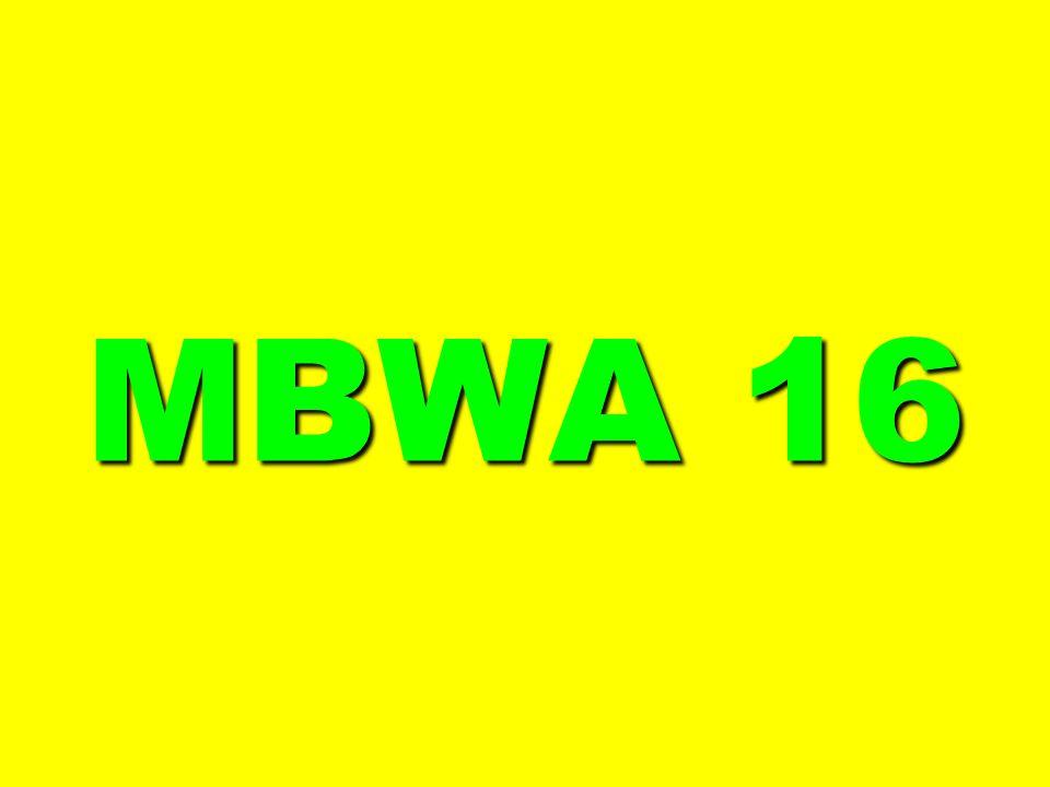 MBWA 16