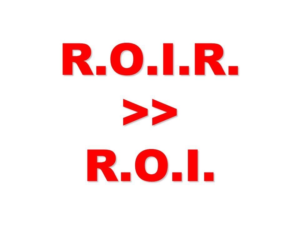 R.O.I.R. >> R.O.I. 321 321