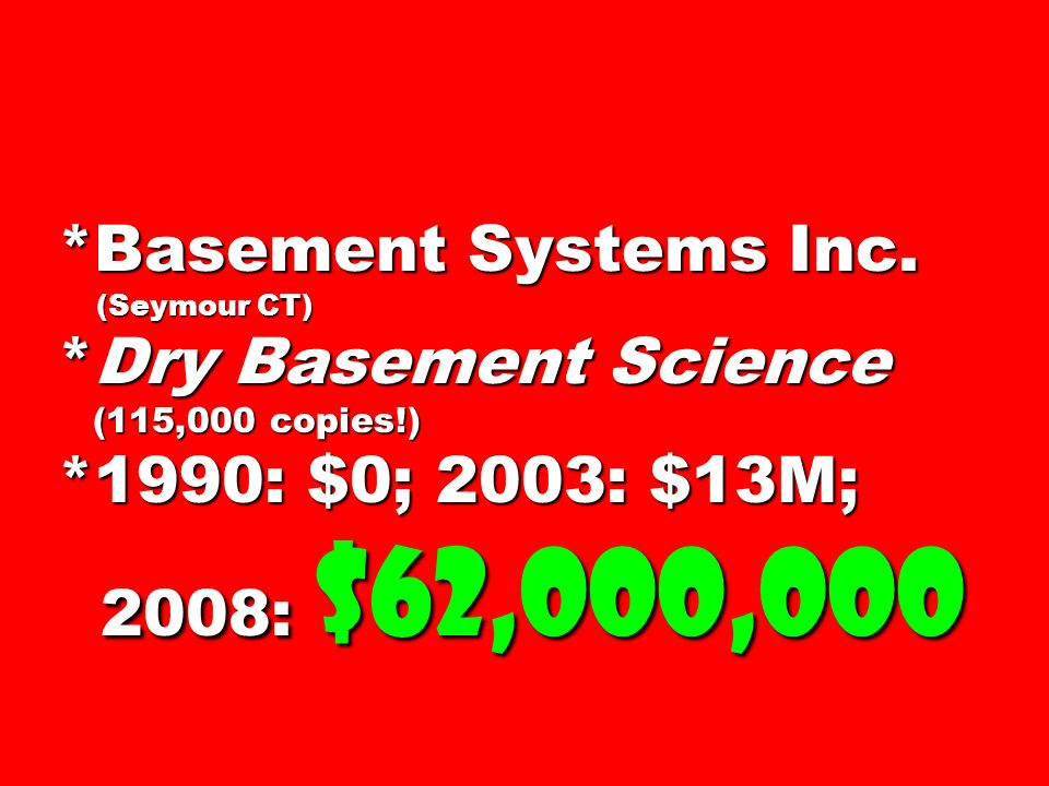 Basement Systems Inc. (Seymour CT)