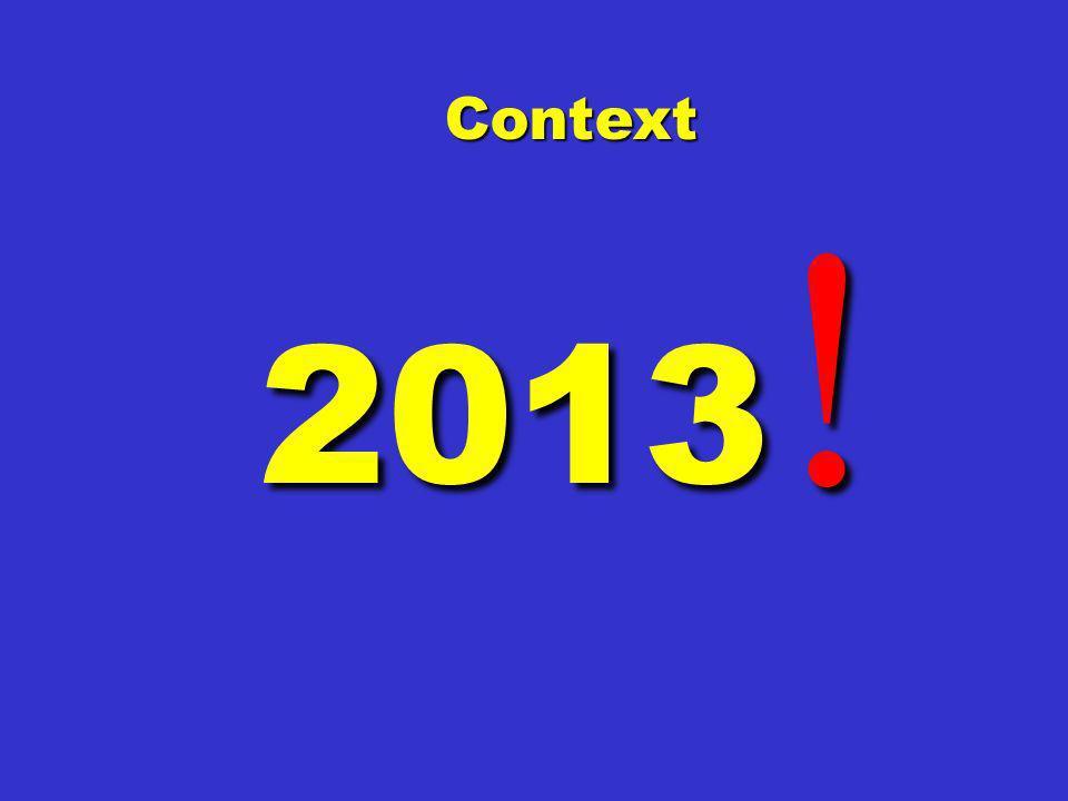 Context 2013!