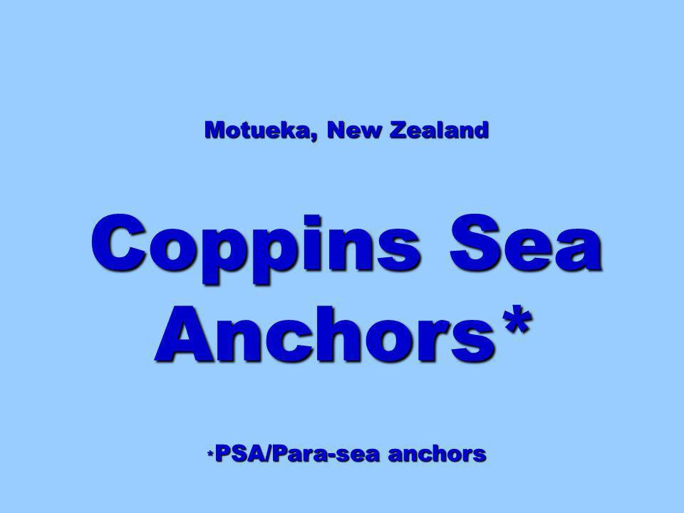 *PSA/Para-sea anchors
