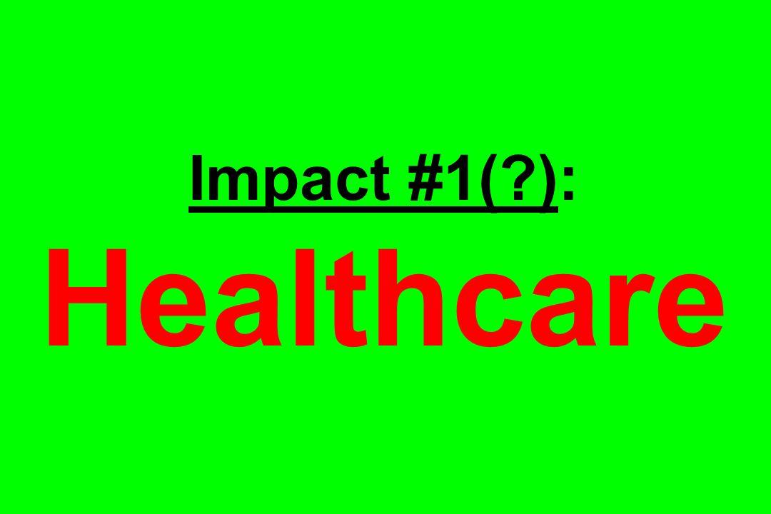 Impact #1( ): Healthcare