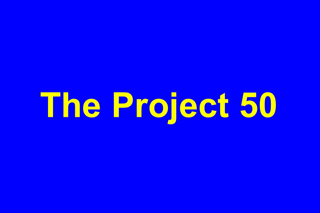 The Project 50