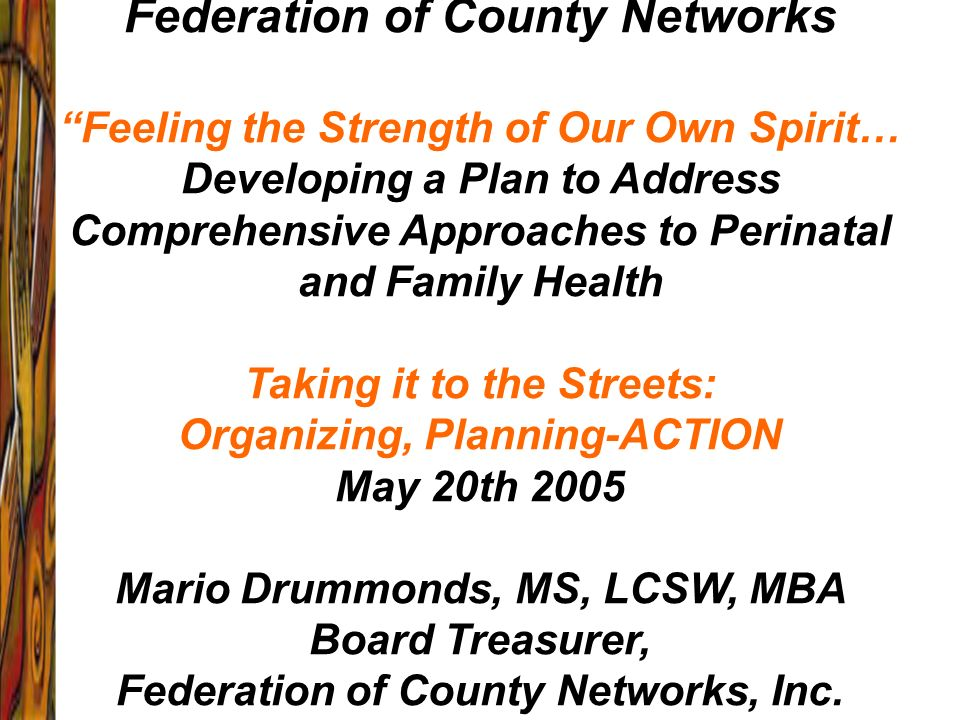 Federation of County Networks