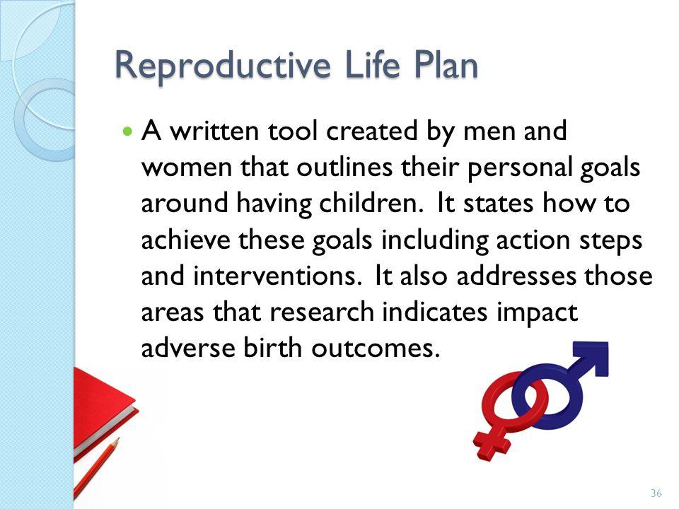 Reproductive Life Plan