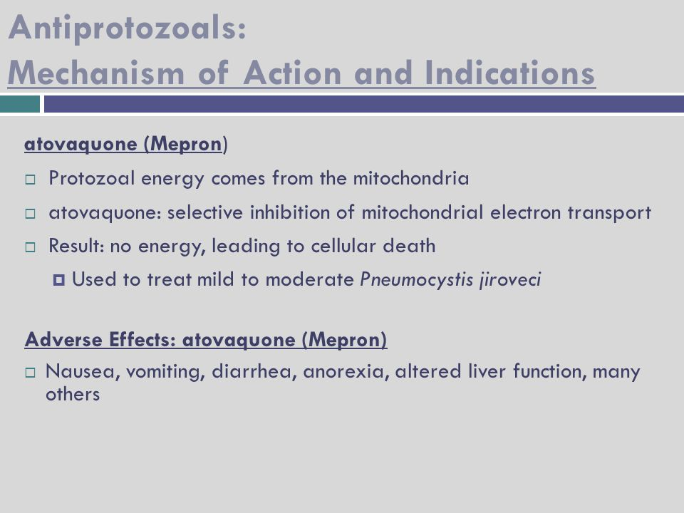 Antimalarial Antiprotozoal Anthelmintic Drugs - ppt video