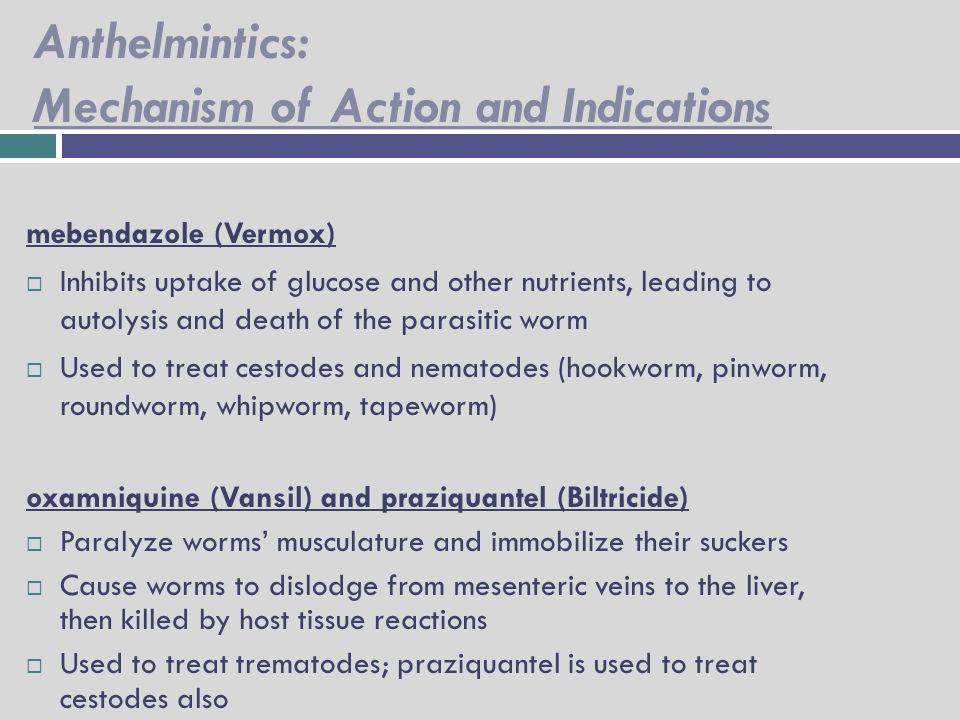 Vermox adverse effects
