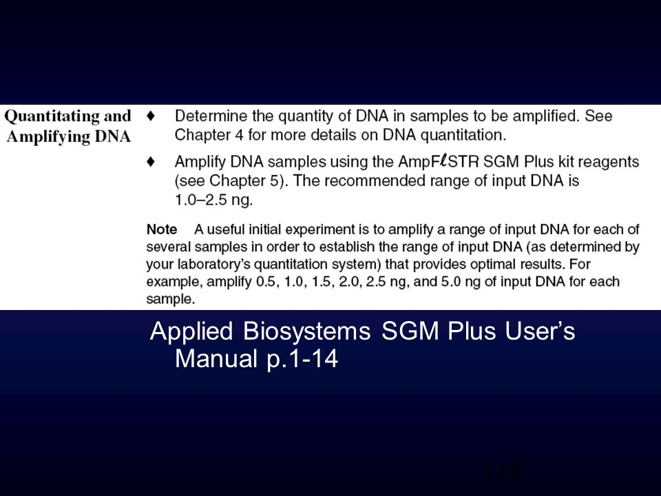 Applied Biosystems SGM Plus User's Manual p.1-14