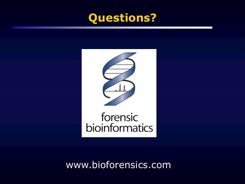 Questions www.bioforensics.com