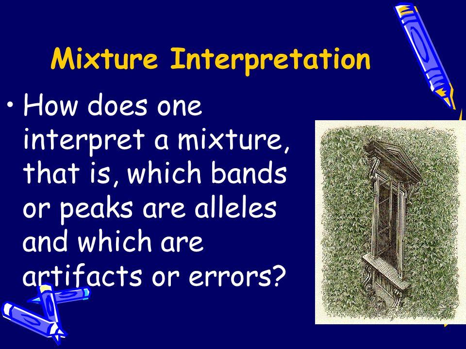 Mixture Interpretation