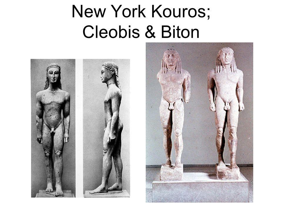 New York Kouros; Cleobis & Biton