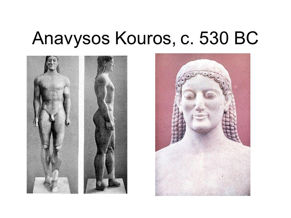 Anavysos Kouros, c. 530 BC