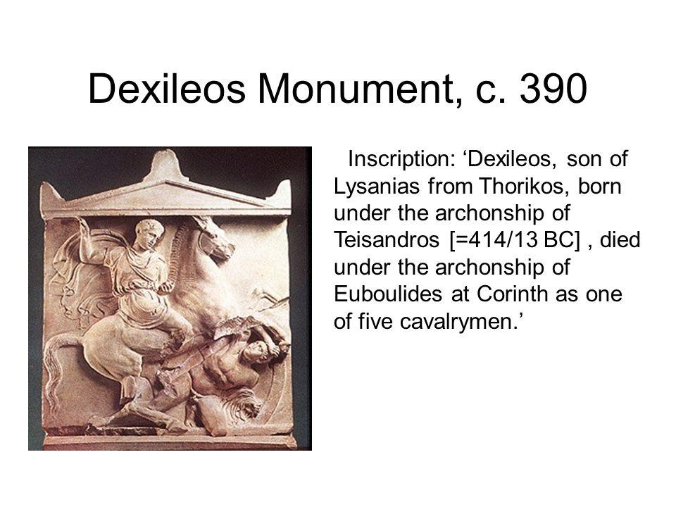 Dexileos Monument, c. 390