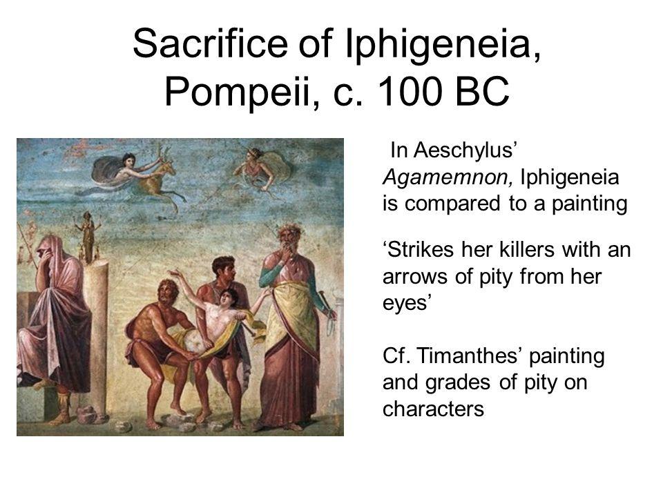 Sacrifice of Iphigeneia, Pompeii, c. 100 BC