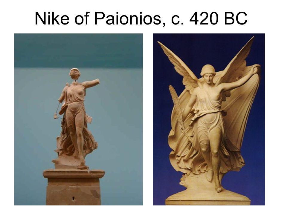 Nike of Paionios, c. 420 BC
