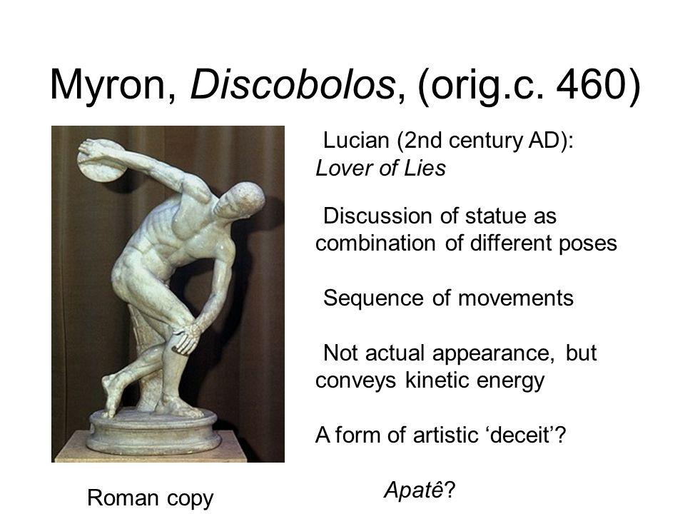 Myron, Discobolos, (orig.c. 460)