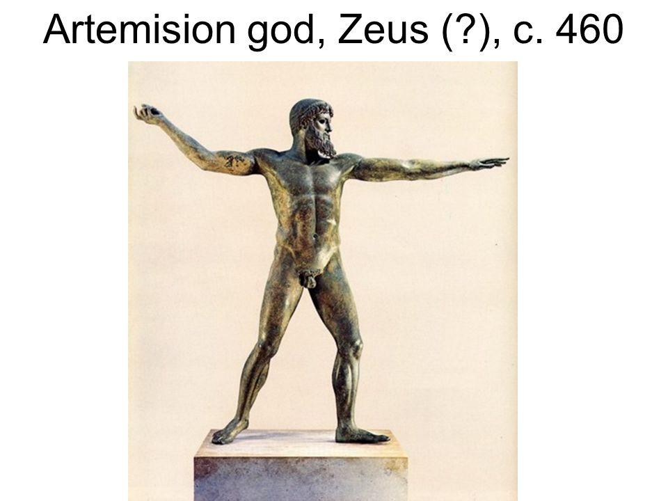 Artemision god, Zeus ( ), c. 460