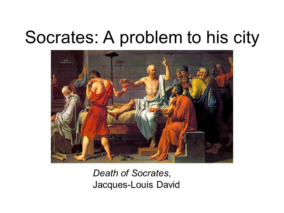 Socrates: A problem to his city