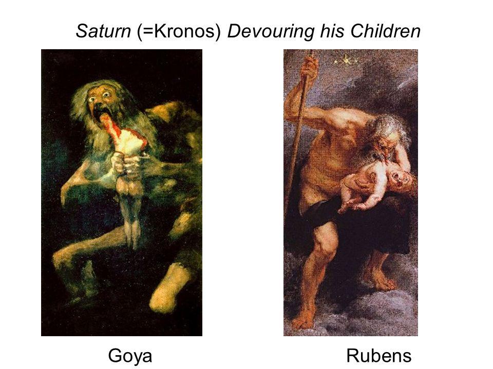 Saturn (=Kronos) Devouring his Children