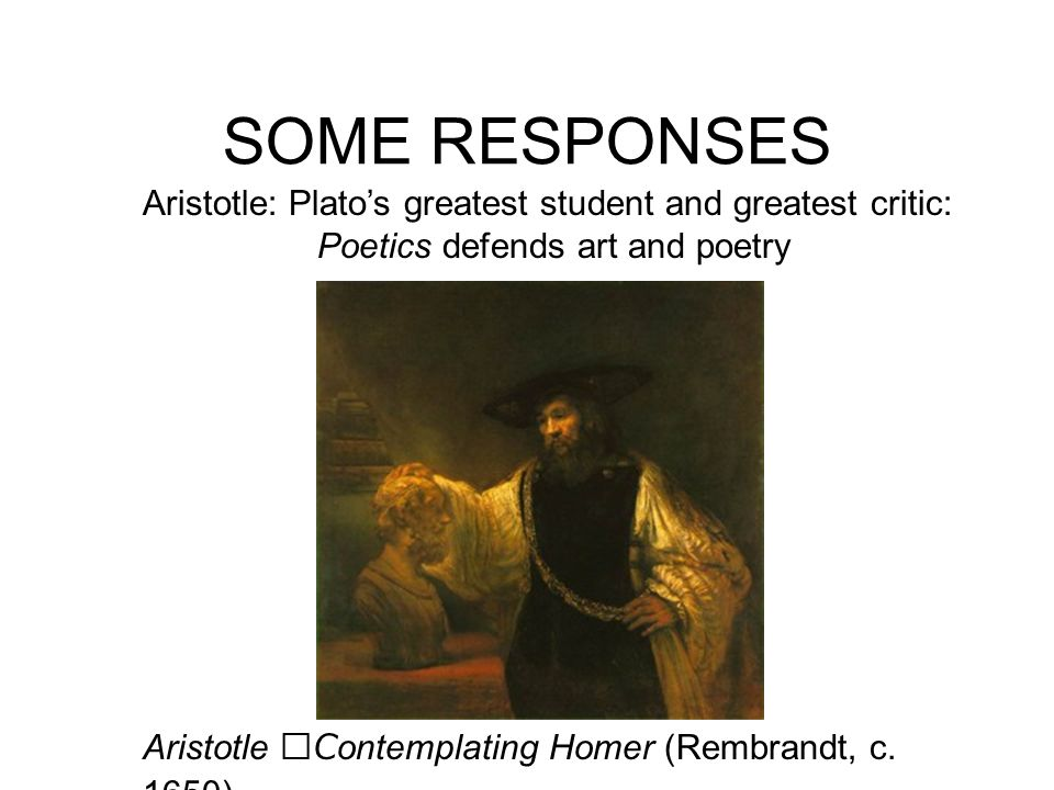 Poetics defends art and poetry