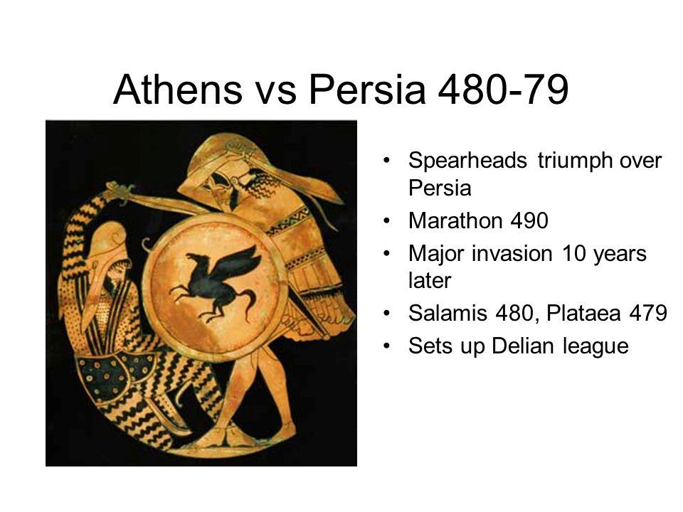 Athens vs Persia 480-79 Spearheads triumph over Persia Marathon 490