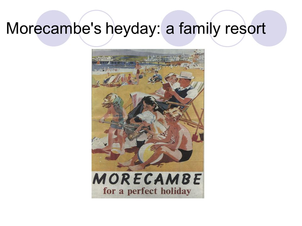 Morecambe s heyday: a family resort
