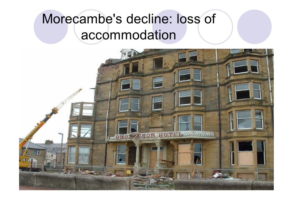 Morecambe s decline: loss of accommodation