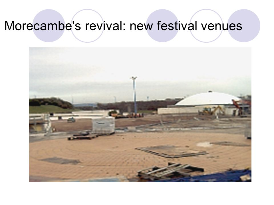 Morecambe s revival: new festival venues