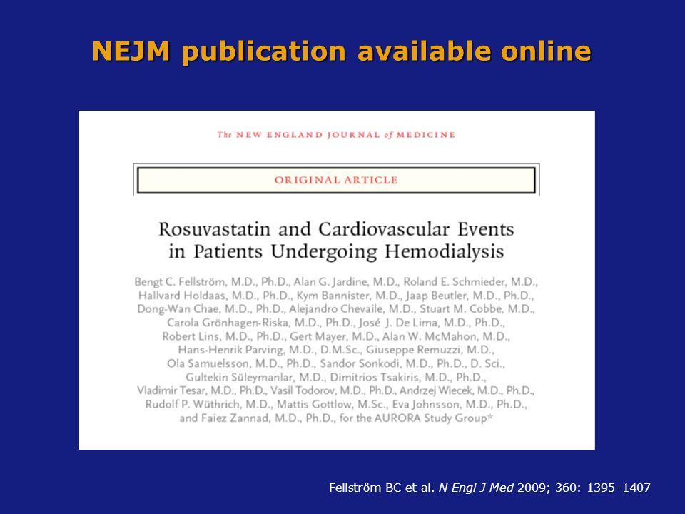 NEJM publication available online