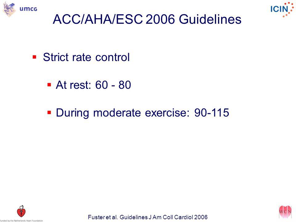 ACC/AHA/ESC 2006 Guidelines