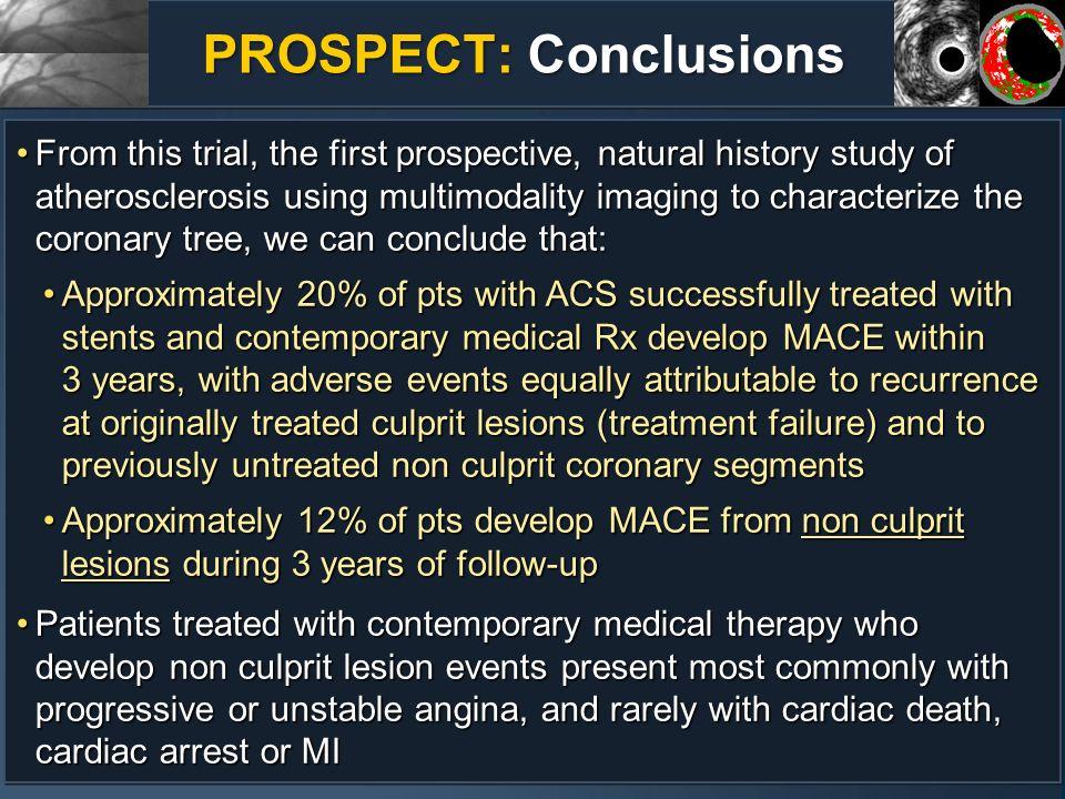 PROSPECT: Conclusions