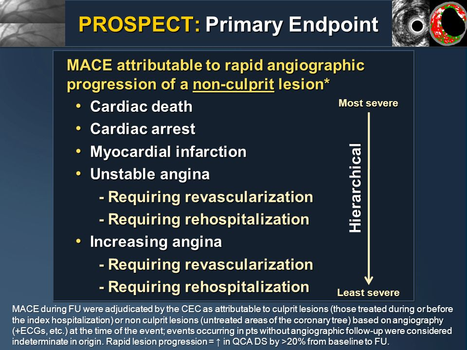 PROSPECT: Primary Endpoint