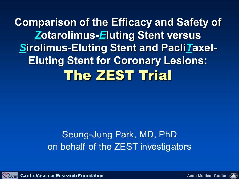 on behalf of the ZEST investigators