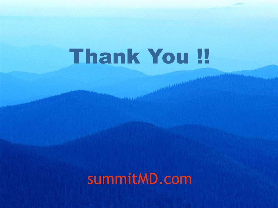Thank You !! summitMD.com